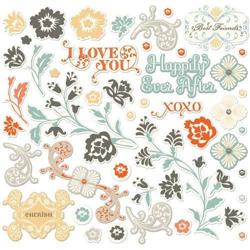 CCR Chipboard  Ready Set - Ever After