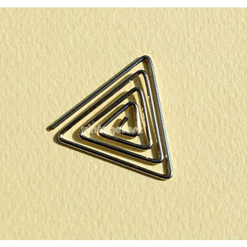 CRM Paperclips Triangle Silber