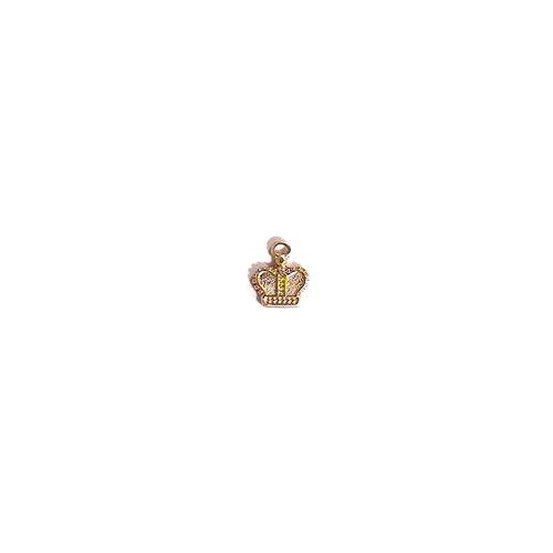 ACP Brass Charm Tiny Crown