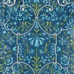 K & Company Papier- Addison Collection Blue Teal & Green...