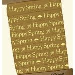 PBK Ribbons - Primitive Collection - Mustard-Cream Spring