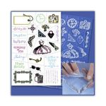 INK Stempel Clear-on-Clear Thought of Fancy