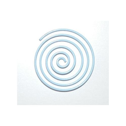 CRM Paperclips Circle Light Blue