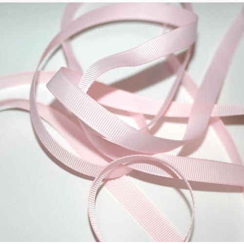 SRH Ribbon - Grosgrain 3/8 - Powder Pink