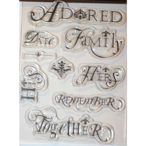 DLSH Clear Stamps - Petite Words