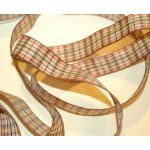 SRH Ribbon Plaid Tan/Red/Black (BND0260)
