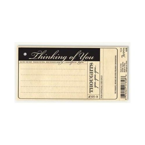 7G Vintage Tags - 97% Complete? Tags: Thinking of you