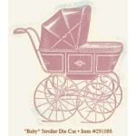 MYM Die-Cuts - Fancy Baby Stroller