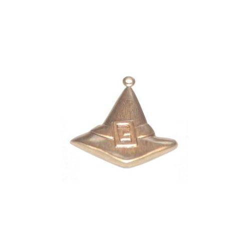 ACP Brass Charm Witches Hat