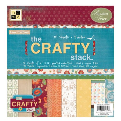 DCWV Paper Stack 12x12 -  Crafty Stack