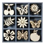 KRS Embellishment - Wood Art Nature