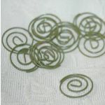 SRH Metal Art - Paper Clips Small Round Olive