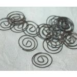 SRH Metal Art - Paper Clips Small Round Brown