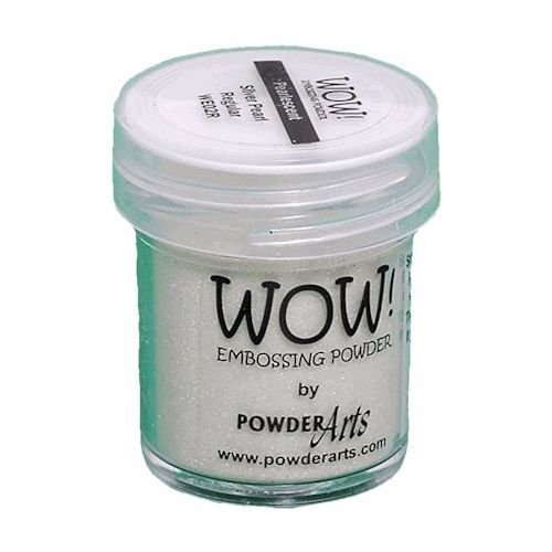 WOW Embossing Powder - Silver Pearl Super Fine