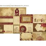 SST Cardstock - Generations Journaling Card Elements 1