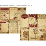 SST Cardstock - Generations Vertical Journaling Cards