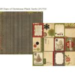 SST Cardstock - 25 Days of Christmas Flash Cards