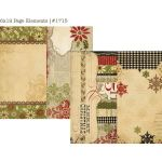 SST Cardstock - 25 Days of Christmas Page Elements