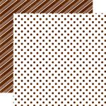 ECP Cardstock - Dots & Stripes Christmas Gingerbread...
