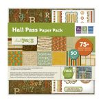 WRM Paper Pack 12x12 - Hall Pass
