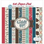 CTB Paper Pad 6x6 - Giddy Up! Boy