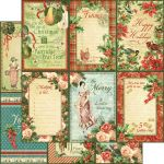 G45 Cardstock - Twelve Days of Christmas Holly & Ivy