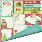 ICS Cardstock - Colors of Christmas Holiday Wishes
