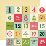 OCA Cardstock - Make it Merry Make a Countdown