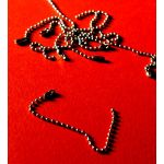 SRH Metal Art - 12 St. Beaded Mini Chain SIlver