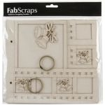 FBS Chipboard Album - Christmas Bell