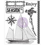 PRM Clear Stamp - Seashore Enjoy