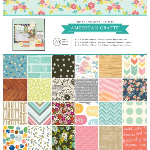 AMC Paper Pad 12x12 - Best of American Crafts