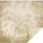 FBS Cardstock - Timeless Travel Map 2