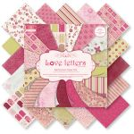 TRC Paper Pad 8x8 - First Edition Love Letters