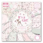TRC Paper Pad 6x6 - First Edition Its a Girl
