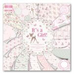 TRC Paper Pad 12x12 -  Its a Girl