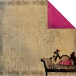 FBS Cardstock - Burlesque Chaise
