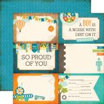 ECP Cardstock - All about a Boy Journaling Cards