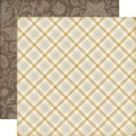ECP Cardstock - Reflections Fall Harvest Plaid