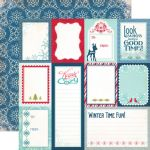 ECP Cardstock - Keepin Cozy Journaling Cards