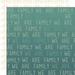 LYB Cardstock - We R Family Family Rules