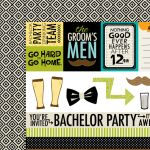 BLB Cardstock - Engaged at last Bachelor Extras