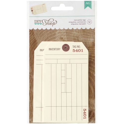 AMC Embellishments - DIY Shop Mercantile Tags