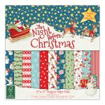 DVC Paper Pad 12x12 - The Night before Christmas