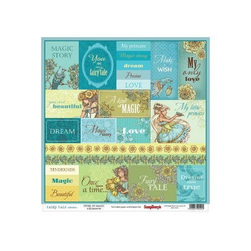 SCB Cardstock - Fairy Tale Story of Magic