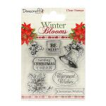 TRC Clear Stamps -  Winter Blooms Bell