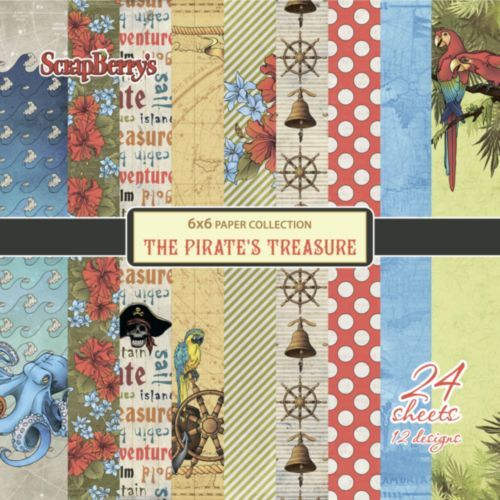 SCB Paper Pack 6x6 - The Pirates Treasure
