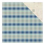 ATQ Cardstock - Explore Plaid/Vintage Blank Postcards