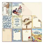 ATQ Cardstock - Explore Pocket Cut-Apart 3X4 Cards/Grid