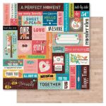 RRI Cardstock - Happy Days Chit Chat
